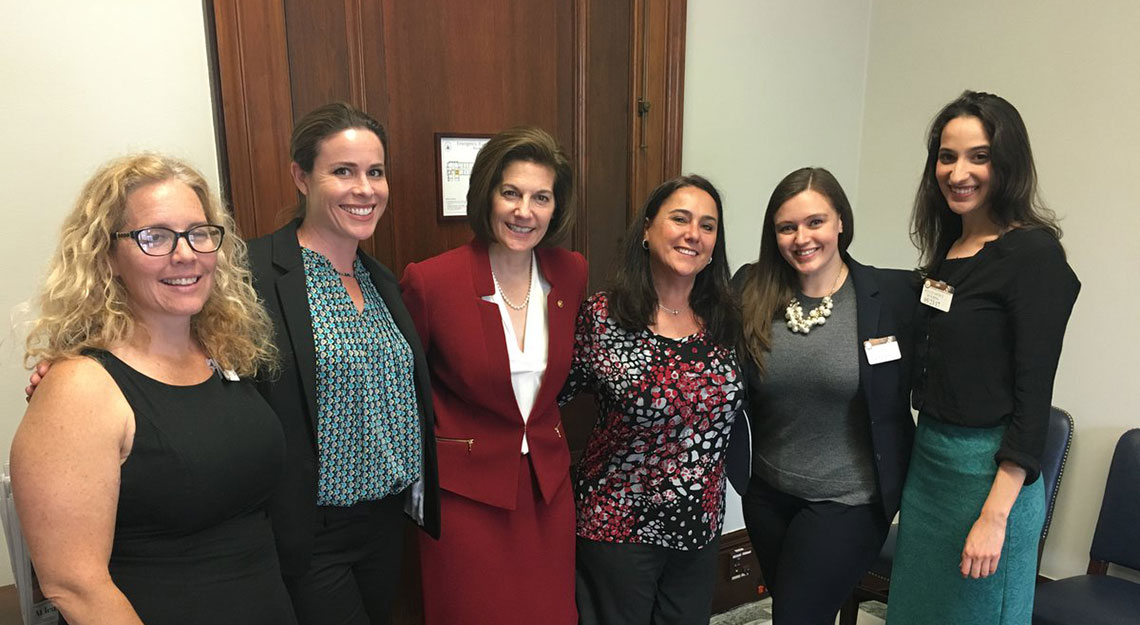 Lobbying Congress for national paid leave